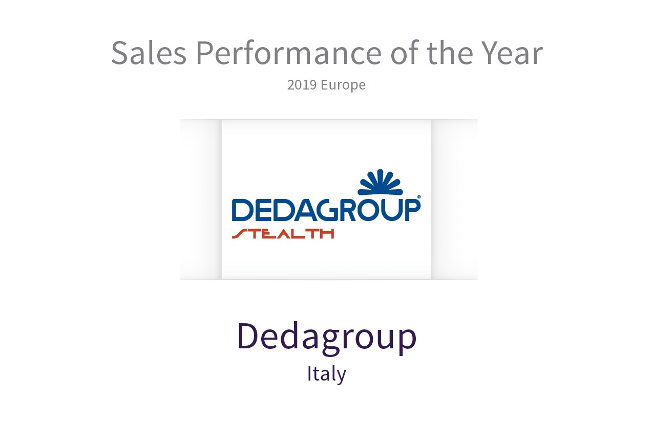 Dedagroup Stealth è Sales Performance of the Year al Retail Pro Global Council 2019