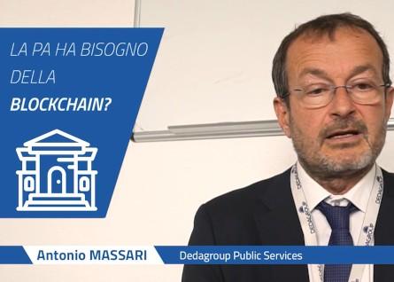 Blockchain applicate alle PA: video intervista a Antonio Massari